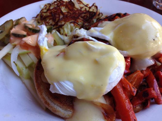 Eggs Veronique