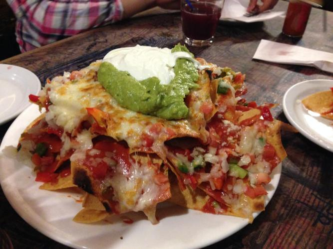 Kings Crown nachos